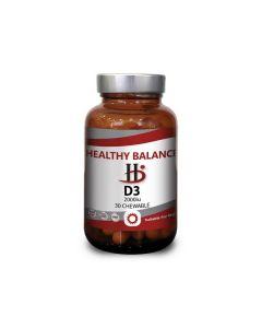 Healthy Balance D3 2000 IU 30 chewable tabs