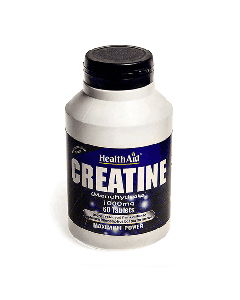 Health Aid Creatine Monohydrate 1000 mg 60 tabs