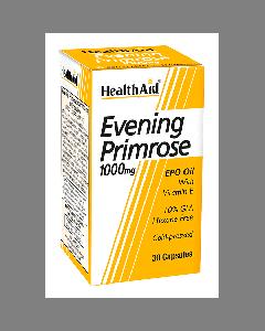 Health Aid Evening Primrose Oil 1000 mg & Vitamin E 30 caps