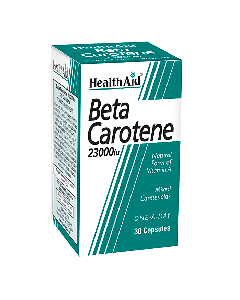 Health aid Beta-Carotene 15 mg 30 caps