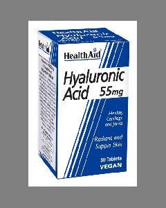 Health Aid Hyaluronic Acid 55 mg 30 tabs