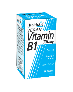 Health Aid Vitamin B1 (Thiamin) 100mg - Prolonged Release 90 tabs