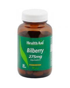 Health Aid Bilberry Extract 275 mg standardised 30 tabs