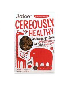 Joice Cereously Healthy Δημητριακά με Χαρουπάλευρο, Φαγόπυρο & Αμύγδαλα 350 gr
