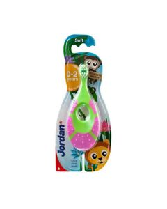 Jordan Baby Toothbrush 0-2 years old step by step soft