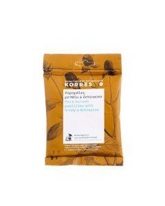 Korres Καραμέλες µε Μέλι & Echinacea 15 παστίλιες
