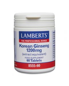 Lamberts Korean Ginseng 1200 mg 60 tabs