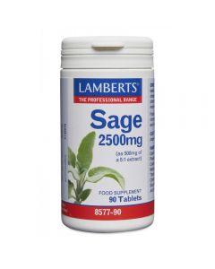 Lamberts Sage 2500 mg 90 tabs