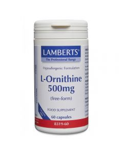 Lamberts L-Ornithine 500 mg 60 caps