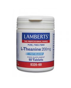 Lamberts L-Theanine 200 mg 60 tabs