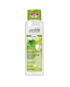 Lavera Freshness & Balance Shampoo Organic Lemon Balm & Mint oily hair 250 ml