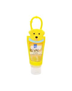 Intermed Reval Plus Antiseptic Hand Gel Lemon 30 ml & Case Dog