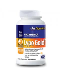 Enzymedica Lypo Gold Fat Digestion 60 caps