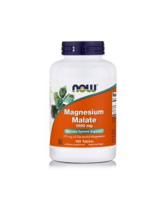 Now Magnesium Malate 1000 mg 180 tabs