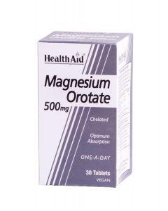 Health Aid Magnesium Orotate 500mg 30 tabs