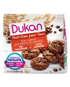 Dukan Oat Bran Mini Cookies Chocolate Chips 100 gr