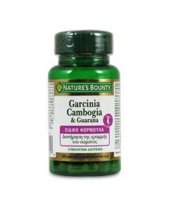 Nature's Bounty Garcinia Cambogia & Guarana 60 caps