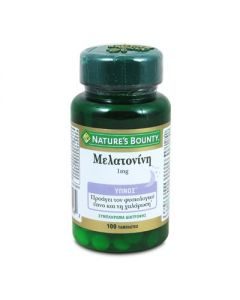 Nature's Bounty Melatonin 1 mg 100 tabs