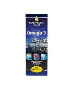 Norwegian Fish Oil Omega 3 Liquid 240 ml