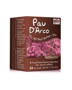 Now Real Tea Pau D'Arco Caffeine free 24 Bags