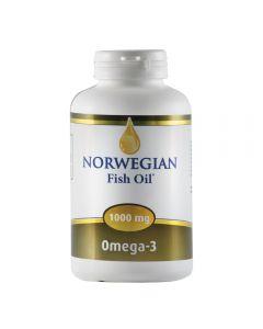 Norwegian Fish Oil Omega 3 1000 mg 60 softgels