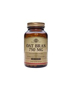 Solgar Oat Bran 750 mg 100 tabs
