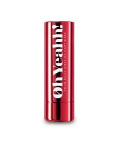 Oh Yeahh Happy Lip Balm Red SPF 15 4.2 gr