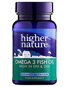 Higher Nature Omega 3 Fish Oil High in EPA & DHA 180 caps