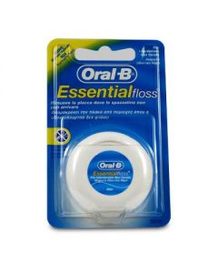 Oral-B Essential Floss Ακήρωτο Νήμα 50 m
