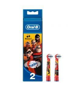 Oral-B Stages Incredibles 2 Toothbrush replacement heads 2 pcs