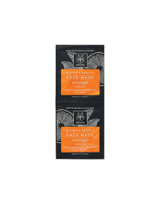 Apivita Express Beauty Face mask Orange Radiance 2 x 8 ml