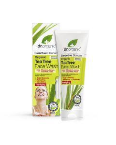 Dr. Organic Tea Tree Face Wash 200ml