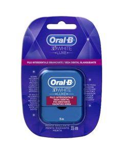 Oral-B 3D White Οδοντικό Νήμα 35 m