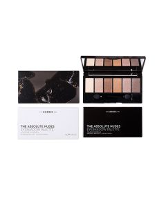 Korres Volcanic Minerals The Absolute Nudes Eyeshadow Palette Intense Pay-Off Satin Finish 6 gr