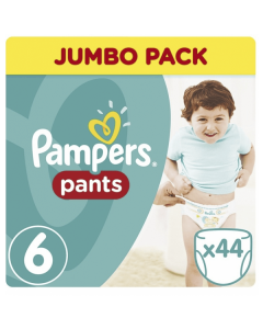 Pampers Pants Jumbo Pack Extra Large No6 (16+ kg) 44 nappies