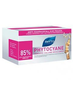 Phyto Phytocyane Ampoules 12 x7.5 ml