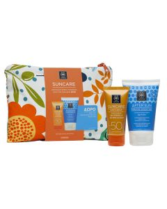 Apivita Suncare Anti-Spot SPF50 50 ml & After Sun Cooling cream-gel travel size 100 ml