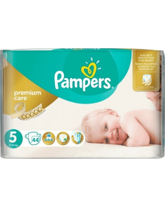 Pampers Premium Care Junior no5 (11-18 kg) 44 nappies