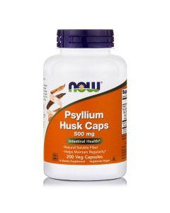 Now Psyllium Husk 500 mg 200 caps