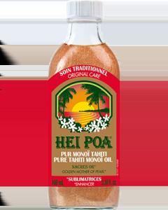 Hei Poa Tahiti Monoi Oil Nacres Or 100 ml