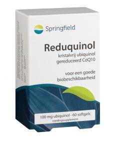 Springfield Reduquinol (Ubiquinol) 100 mg 60 softgels