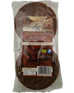 Bio-Agros Rice wafer with milk chocolate gluten free 100 gr
