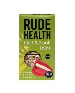 Rude Health Oat & Spelt Crackers Organic 130 gr