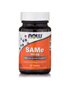 Now SAMe 100 mg Vegetarian Enteric Coated 30 tabs