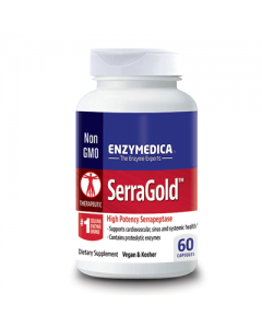 Enzymedica SerraGold 60 caps