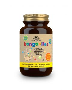 Solgar Kangavites chewable vit.C 100 mg Orange flavour 90 tabs