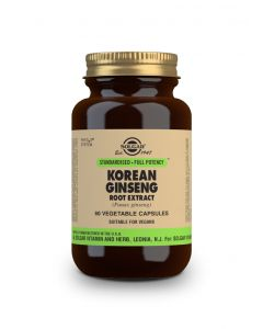 Solgar Korean Ginseng Root Extract 60 veg. caps