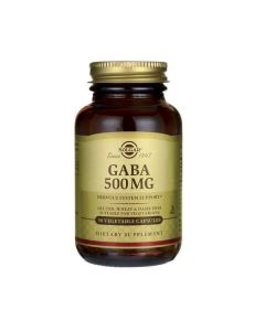Solgar GABA 500 mg 50 veg.caps
