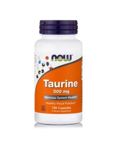 Now Taurine 1000 mg free form 100 caps