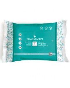 Pharmasept Tol Velvet Hygienic Cleansing gloves 10 pcs